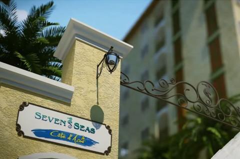 Seven Seas Cote d'Azur - Luxury Themed Resort in Jomtien, Pattaya, Thailand